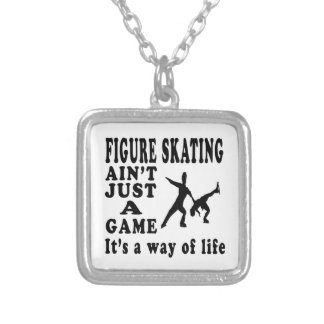 Figure Skating Ain t Just A Game It s A Way Of Lif Pendant
