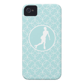 Figure Skating; Baby Blue Circles iPhone 4 Covers