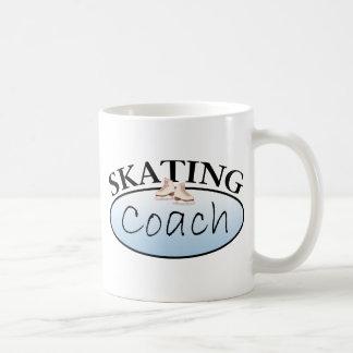 Figure Skating Coach Basic White Mug