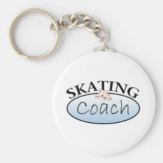 Figure Skating Coach Key Ring