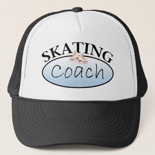 Figure Skating Coach Trucker Hat