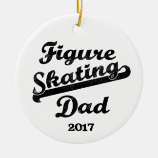 Figure Skating Dad Ornament