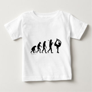 figure skating evolution baby T-Shirt