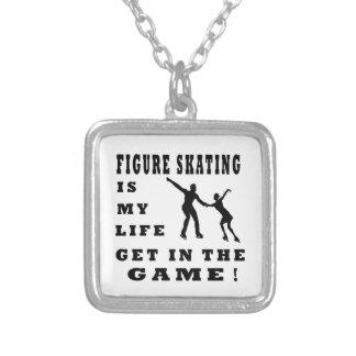 Figure Skating Is My Life Pendants