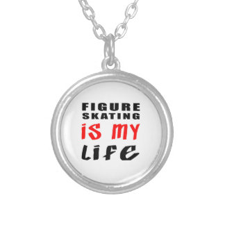 Figure Skating is my life Custom Necklace