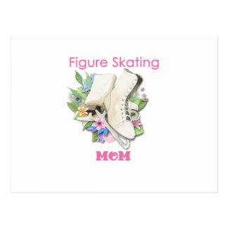 Figure Skating Mom Gift Best Pink Postcard