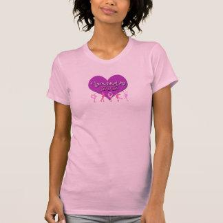 Figure Skating MOM Pink Tank Top (purple heart)