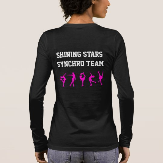 Figure Skating Mum Shirt with Heart - Personalise