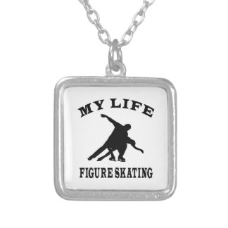 Figure Skating My Life Custom Necklace