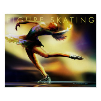 Figure Skating Poster