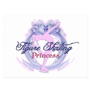 Figure Skating Princess Postcard