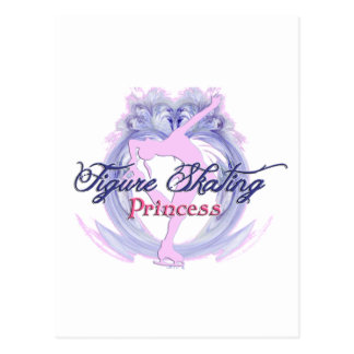 Figure Skating Princess Postcard