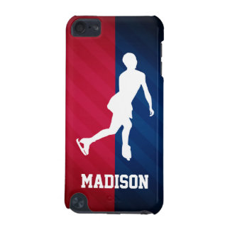 Figure Skating; Red, White, and Blue iPod Touch 5G Covers