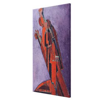 Figure Study - Design for Sculpture Canvas Print