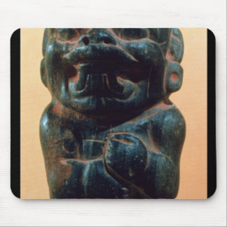 Figure with the head of a Jaguar Mouse Mat