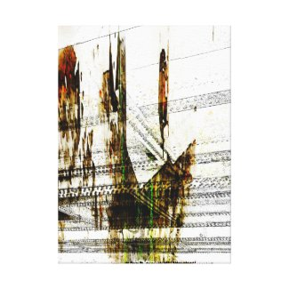 Figures Canvas Print