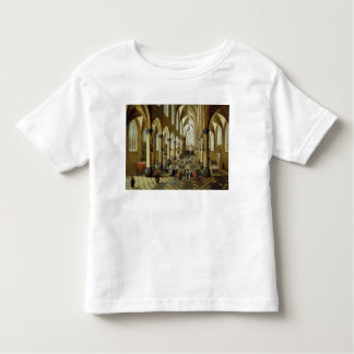 Figures gathered in a Church Interior Toddler T-Shirt
