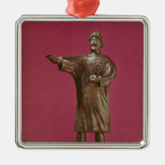 Figurine of a man wearing a sagum christmas ornament