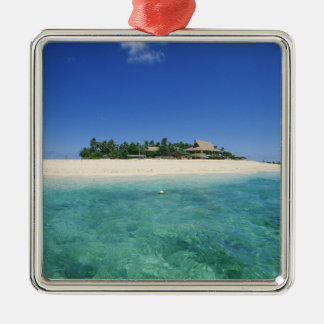 FIJI, Beachcomber Island. Christmas Ornament