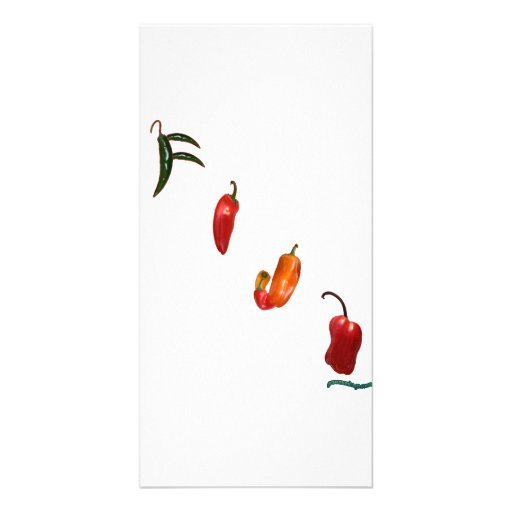 Fiji Chili Peppers Customized Photo Card