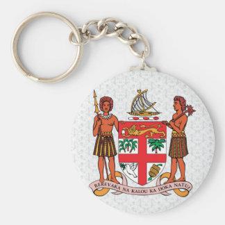 Fiji Coat of Arms detail Key Ring
