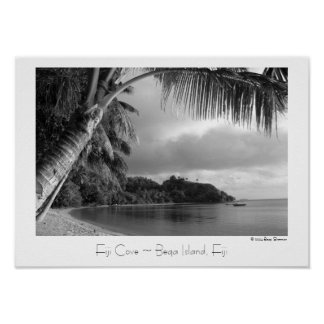 Fiji Cove ~ Beqa Island, Fiji ~ Travel Poster