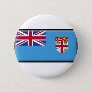 Fiji Flag 6 Cm Round Badge