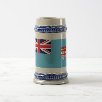 Fiji Flag Beer Stein