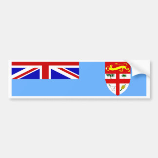 Fiji Flag Bumper Sticker