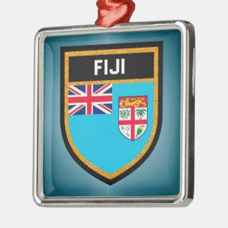 Fiji Flag Christmas Ornament