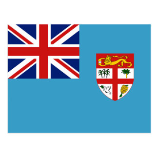 Fiji Flag Postcard