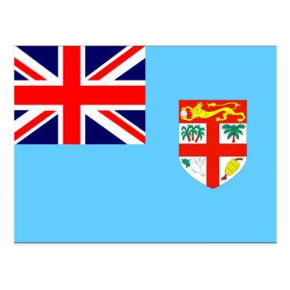 Fiji Flag Postcard