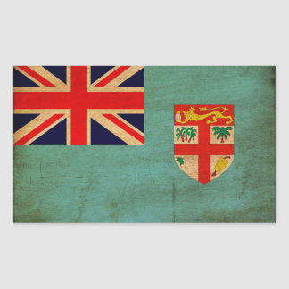 Fiji Flag Rectangular Sticker