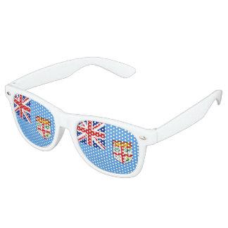 Fiji Flag Retro Sunglasses