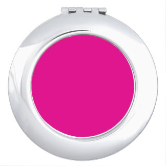Fiji Fuchsia-Purple-Pink Magenta Tropical Romance Mirror For Makeup