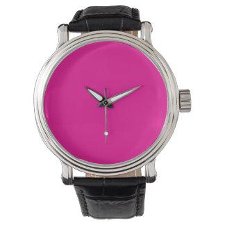 Fiji Fuchsia-Purple-Pink Magenta Tropical Romance Wristwatch