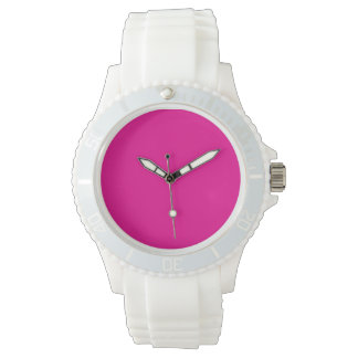 Fiji Fuchsia-Purple-Pink Magenta Tropical Romance Wrist Watch