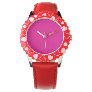 Fiji Fuchsia-Purple-Pink Magenta Tropical Romance Watch