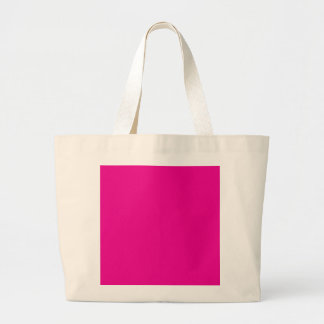 Fiji Fuchsia-Purple-Pink Magenta Tropical Romance Jumbo Tote Bag