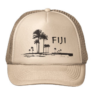 Fiji - Graphic Palm Trees Cap