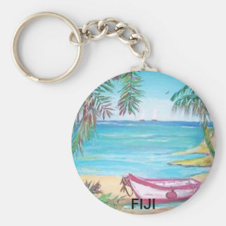 Fiji Islands Keychain