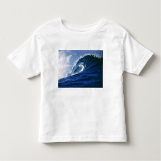 Fiji Islands, Tavarua, Cloudbreak. A wave Toddler T-Shirt
