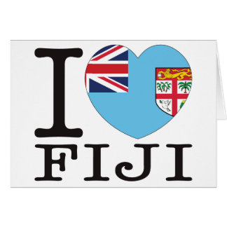 Fiji Love v2 Card