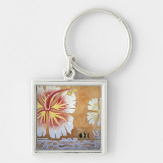 Fiji, mural art. key ring