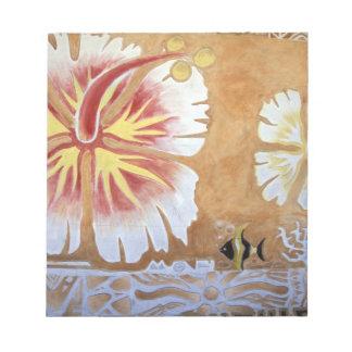 Fiji, mural art. notepads