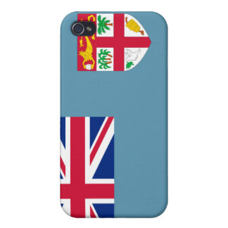 Fiji National Nation Flag  iPhone 4 Cases