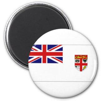 Fiji Naval Ensign 6 Cm Round Magnet