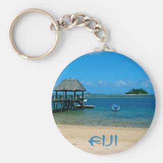 Fiji - Paradise Found on Malolo Island Basic Round Button Key Ring