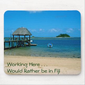 Fiji - Paradise Found on Malolo Island Mouse Mat