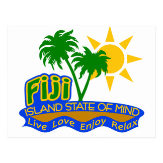 Fiji State of Mind postcard